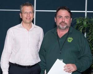 Tony Rothacker, Janison and Highly Commended Winner Peter Watt